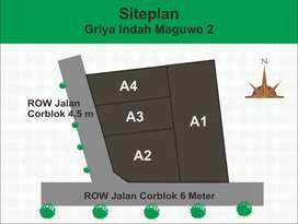 Tanah Kavling 125m2 di Sanggrahan Maguwo Dekat Budi Mulia 2, Jogja Bay
