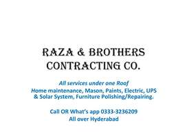 All Services under ONE Roof