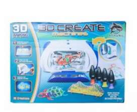 Magic 3D Maker UV Curing 3D Printer UV Forming Machine 3D Doodler DIY