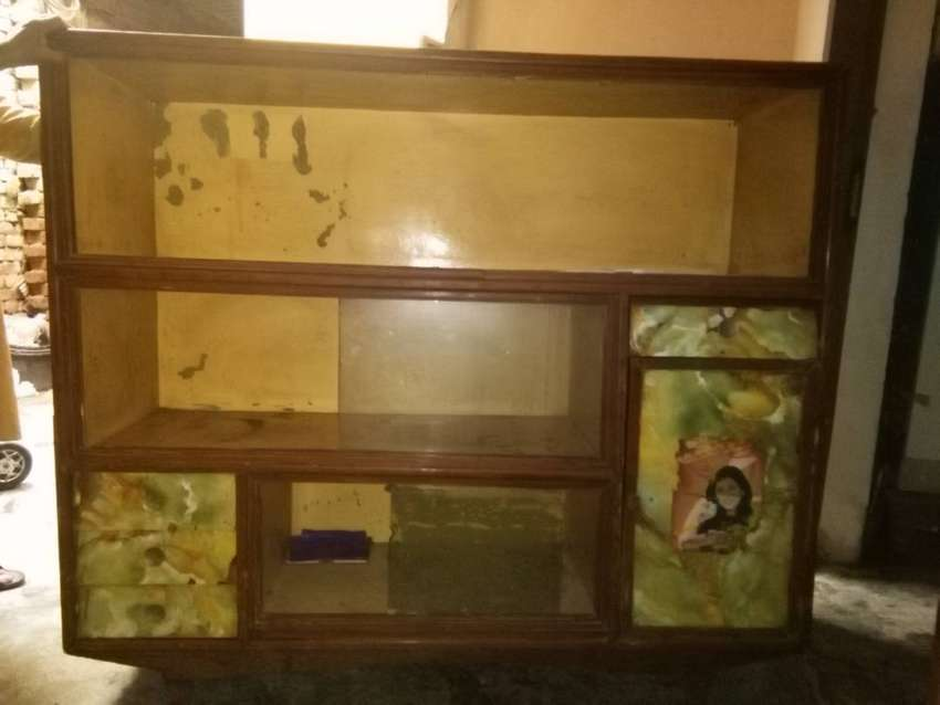 wooden showcase for sale 0