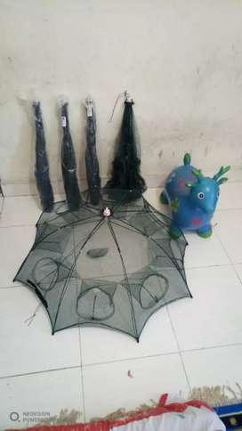 Jaring/bubu ikan payung
