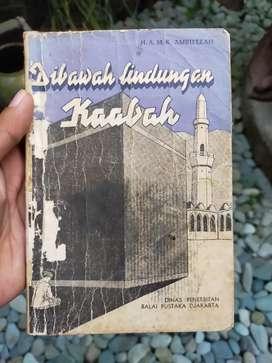 Novel Antik Buya Hamka Dibawah lindungan Kaabah Cetakan thn 1957