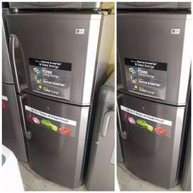With 5 year warranty double door fridge 250 liter