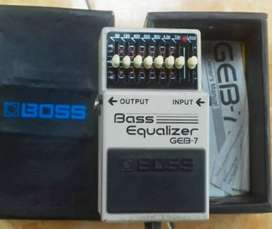 Effect Bass Boss GEB-7 Bass Equalizer