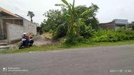 Tanah pekarangan dekat RSUD Prambanan Sleman Yogyakarta