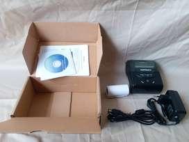 printer bluetooth thermal portable, baterai, ukuran 58mm (tanpa tinta)
