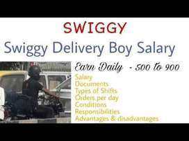 Delivery Boys/Bike Delivery/Cycle Delivery