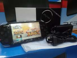 Psp Sony Slim Seri 3000 Terbaru + 16Gb +Games