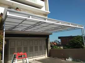 bengkel las canopy , terali , pintu pagar  di denpasar bali