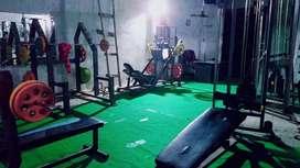 Old gym setup