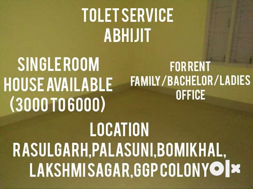 Single Room(3000 To 6000) House Available Near Palasuni To Kalpana 0