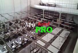 Dijual Rumah dan Bangunan Pabrik Eks Garmen di Bbk Ciparay, Bandung