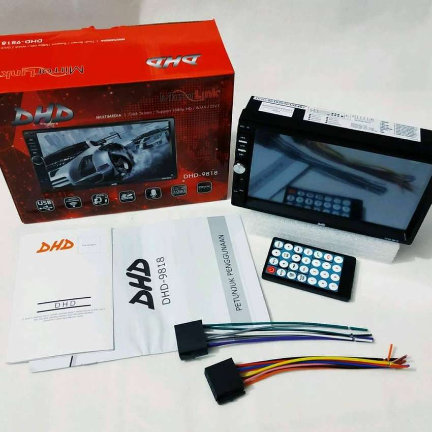 Dijamin Suka Head Unit Voxy support mirror link android iphone 0