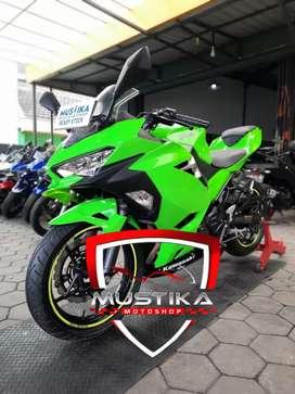 Kawasaki All New Ninja 250 Fi Green 2018 Mulus-Murah Berkelas Mustika