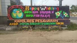 Jasa Sewa Papan Bunga Bandar Jaya
