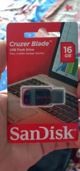 Pendrive 16gb Sealed Pack New