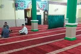 Karpet masjid terbaik tipe B+ pasang serang kota
