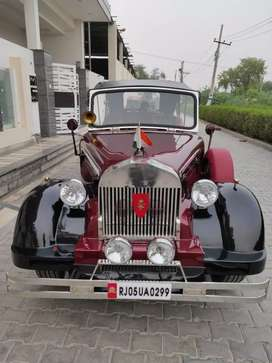 Wedding vintage car