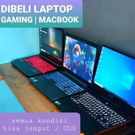 dibeli / jual laptop gaming macbook iphone kamera semua tahun jogja