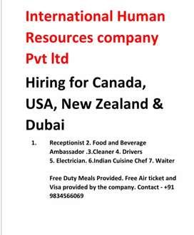 International human resources company