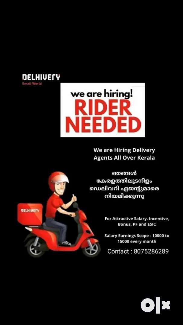 Wanted delivery executives in mattanur area