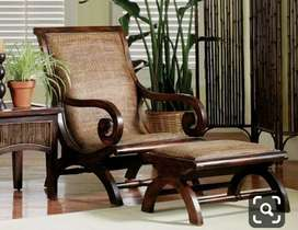 Rocking chair set with 5 years of warranty