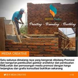Promosi dan konstruksi bangunan
