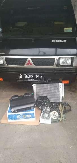 terima pasang unit baru ac mobil box,bak,truk maupun dobel blower