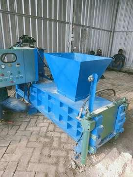 Mesin press serbuk kayu Sawdust blok hidrolik