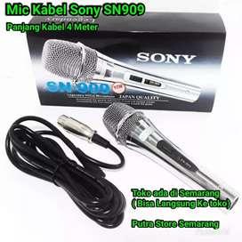 Mic sony SN909 Kabel Mic Kabel sony panjang kabel 4 meter Microphone