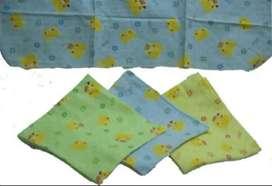 Bedong Bayi Flanel Blanket Baby