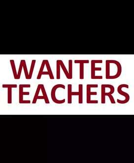 WANTED TEACHER'S