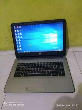 Dijual laptop HP AMD A4 mulus RAM 4GB hardisk 500