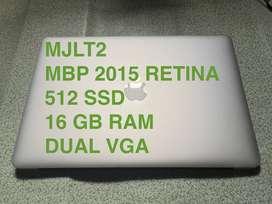 MACBOOK PRO 2015 i7 16 GB 512 SSD FULLSET - MJLT2