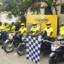 Vizag Rapido bike taxi hiring delivery boys