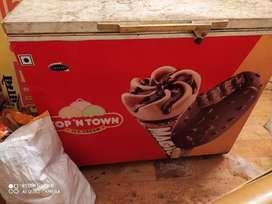Ice cream fridge for shop