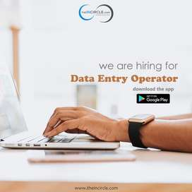 Data Entry operator/Computer operator/Deo/