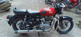 Red Colour, Royal enfield is real royal...