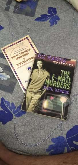 The E-mail Murders Book and a free book also!