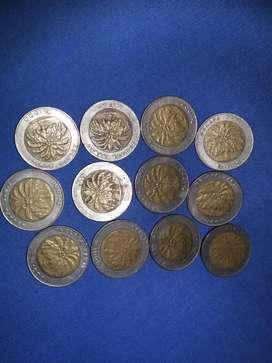 Uang koin 1000 gambar Kelapa sawit
