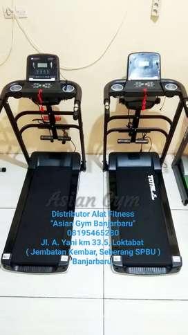 Ready Treadmill Elektrik 1,5hp Kokoh 3 Fungsi