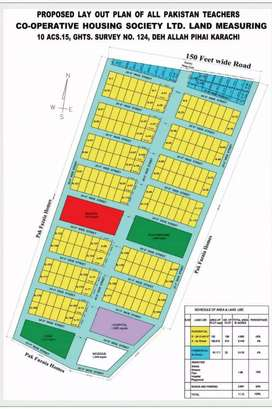 Plot For Sale In All Pakistan Teachers Cooperative Housing Society