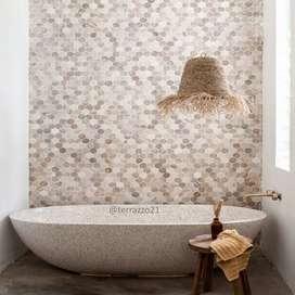 Bathtub unik handmade Perahu - Bak Mandi - Bisa Costum