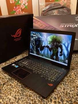 Laptop asus ROg GL553VE Core i7-7700HQ ram 8 GB SSD 128 GB HDD 1 TB
