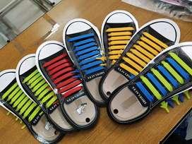 Lazy shoelace/tali sepatu silicone kekinian