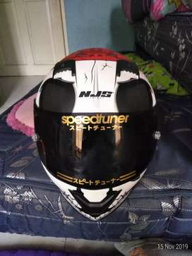 Dijual helm fullface njs motif terbaru