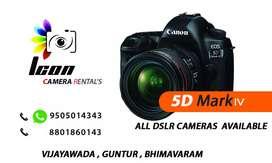 Canon 5d mark4 rent 3500/-