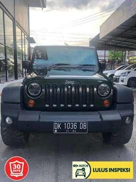 [Lulus Inspeksi] New jeep wangler pmk 2012, 4 door, ori semua