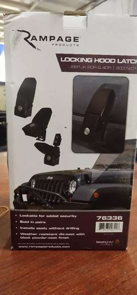 Kunci kap mesin jeep rubicon