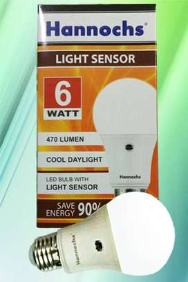 Lampu Teras (LED 6W) Auto ON / OFF Sensor Cahaya